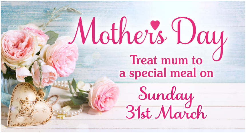 Mother's Day Special Lunch Menu