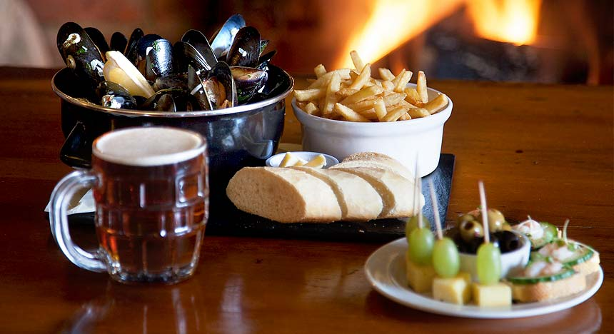 Mussels & Chips